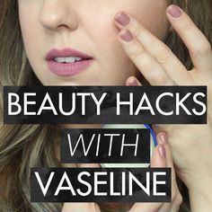 Today's post is for all the ladies out there who want to look and feel fabulous in a pinch! I've put together my most favorite beauty hacks with Vaseline! #EyelashExtensionsAftercare