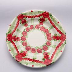 pamela Pot Holders, Plates, Tableware, Red, Green, Tablewares, Licence Plates, Dishes, Dinnerware