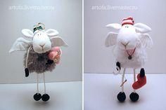 Мягкая игрушка овечка ангел