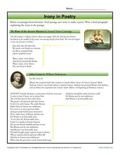 a tale of two cities reading comprehension worksheet reading irony in poetry comprehension activitiesreading comprehensionessay