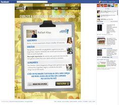 Concurso da Cia Athletica no Facebook. Cia Mais Gostosa. (2011)