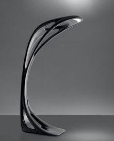 $11,365.00 | Genesy Floor Lamp by Zaha Hadid | Height: 76 3/4″ (195 cm) | Width: 48″ (122 cm) | Light bulb: 7 x 5W LED +1 x 200W halogen | FuturisticSHOP.com