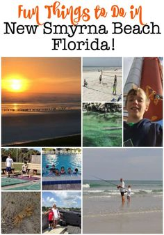 Fun Things to Do in New Smyrna Beach- A Perfect Family Destination! New Smyrna Beach Florida, Florida East Coast, Florida Beaches, Family Road Trips, Family Travel, Best Island Vacation, Where Is Bora Bora, Visit Florida