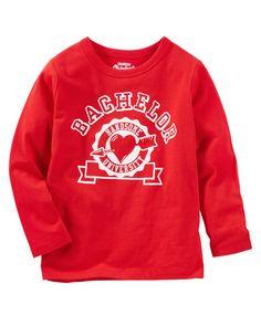 OshKosh Originals Graphic Tee Valentines Day Shirts, Kids Boys, Overalls, Graphic Tees, Kids Shop, Diy, The Originals, Sweatshirts, Sweaters