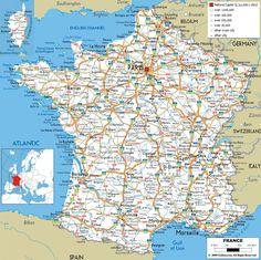 Maps Update #1412997: Detailed Travel Map Of Europe – Large detailed political map of Europe with roads Europe large (+87 More Maps) | JornalMaker.com