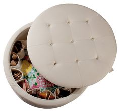 """Lilly Pulitzer Home """"Rousseau"""" Ottoman"""