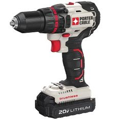 Model Porter-Cable MAX Lithium-Ion Brushless Compact in. Cordless Drill Driver Kit Ah). MAX Ah Lithium-Ion Battery. Compact in. length for work in tight areas. Cordless Drill Reviews, Exercise Bike Reviews, Good Treadmills, Cordless Circular Saw, The Porter, Porter Cable, Shop Usa, Drill Driver, Makita