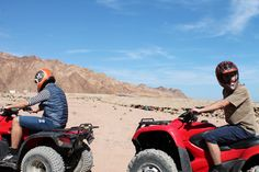 Off-road Quad bike trips. #Dahab #Sinai #Egypt