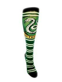 54ee635c45c Awesome - Harry Potter Juniors Knee High Socks. Slytherin