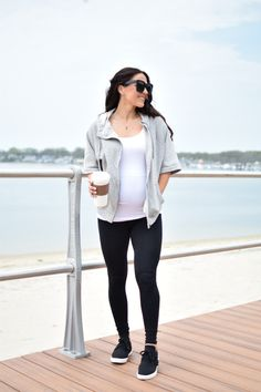 Maternity style | pregnancy fashion | maternity fashion | maternity outfit | pregnancy style | athleisure | mom outfit ideas