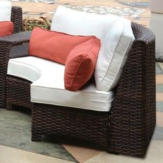 Retail $1399, Our Price $1033. Outdoor Patio Furniture. South Sea Rattan Furniture w/ Sunbrella Fabric (St. Tropez- Loveseat).  www.wemakedirtlookgood.com  http://www.facebook.com/landscapelightinganddesign, http://www.facebook.com/southernlightsofnc, http://www.facebook.com& www.southernlightsofnc.com
