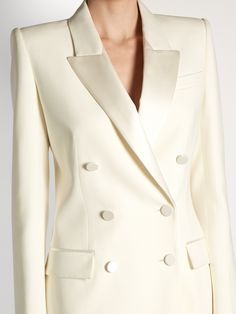 Click here to buy Alexander McQueen Satin-lapel double-breasted jacket at MATCHESFASHION.COM