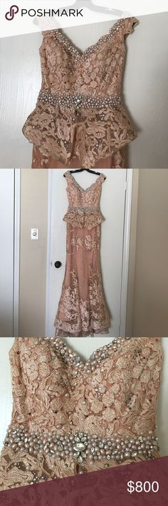 Beautiful elegant dress Gorgeous Lebanese couture dress Dresses