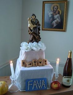 St. Joseph altars for beginners from Catholic Icing