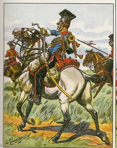 French; Imperial Guard, 2nd Regt Chevau-Legers Lanciers, Trumpeter, Tenue de Campagne, 1813