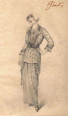Paul Poiret fashion design