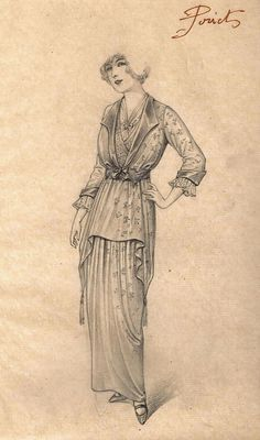 Paul Poiret fashion design