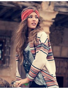 Can't get enough of this look - Boho Style