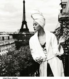 """The Terrier and Lobster: """"Une Journée à Paris"""": Miao Bin Si Dons the New Look in Paris by Yin Chao for Bazaar China October 2012"""
