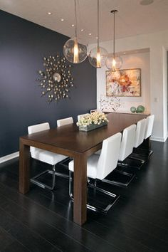 Modern White Counters - contemporary - Dining Room - Indianapolis - Adam Gibson Design