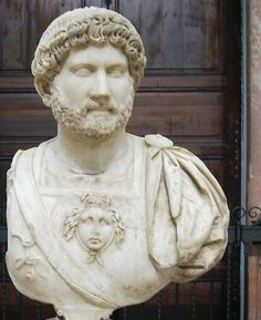 The Emperor Hadrian in military dress.