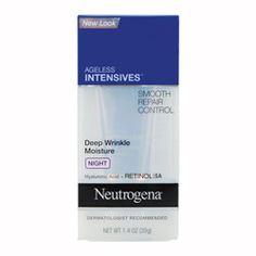 Buy Neutrogena Ageless Intensives Anti-Wrinkle Night Moisturiser g Online Anti Aging Tips, Anti Aging Skin Care, Best Eye Cream, Healthy Beauty, Moisturiser, Neutrogena, Anti Wrinkle, Face Care, Good Skin