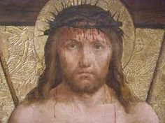 This representation of Jesus shows Him wearing the crown of thorns. It shows the true suffering He endured.