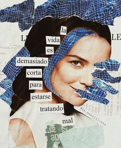 Collages feministas Digital Collage, Collage Art, Collages, Words Can Hurt, Zine, Hippie Art, Empowering Quotes, Self Love Quotes, Some Words