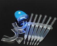 Teeth Whitening Peroxide Dental Bleaching System Oral Gel Kit Tooth Whitener for sale online Home Teeth Whitening Kit, Teeth Whitening Remedies, Natural Teeth Whitening, Dental Aesthetics, Coconut Oil For Teeth, Teeth Bleaching, Dental Crowns, Teeth Care, White Teeth