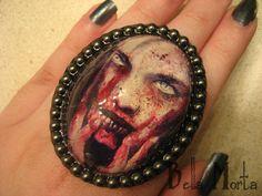 XL Zombie Ring. Artwork by Bill Killen.