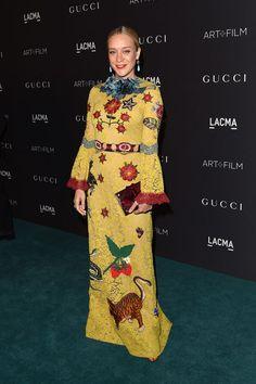 Chloe Sevingny in Gucci at the LACMA gala