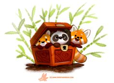 Daily Paint #1264 Pandara's Box