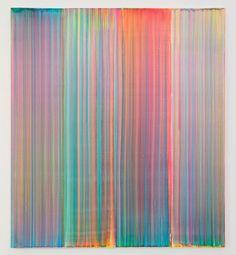 aestheticgoddess:  Bernard Frize 2014