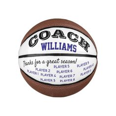 Basketball coach custom thank you gift - ball - tap/click to get yours right now! #basketball, #ball, #coach, #thank, #gift, Basketball Gifts, Basketball Coach, Football And Basketball, Custom Football, Team Pictures, Thank You Gifts, Kids Learning, A Team, Mini