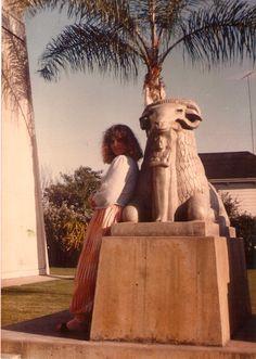 Uriél Dana 1983 Egyptian Rosicrucian Museum, San Jose. Photo by Gage Taylor.
