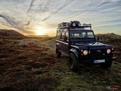Land Rover Defender 110 Td5 Sw ready for adventure.