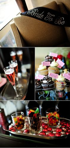Cute bachelorette party details.  Photos by http://www.jamiey.com