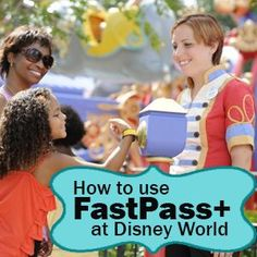 How to tour all Disney World parks using FastPass+ - Includes which attractions offers FastPass+, suggestions for which reservations you should get,  the locations of the FastPass+ kiosks  Touring plans for each park + more