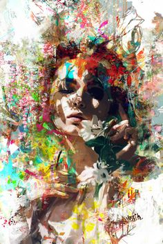 between the tree 2 Painting by yossi kotler Diy Canvas Art, Acrylic Painting Canvas, Abstract Faces, Abstract Art, Zen Art, Portrait Art, Painting & Drawing, Modern Art, Saatchi Art
