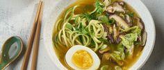 Zucchini Noodle Ramen