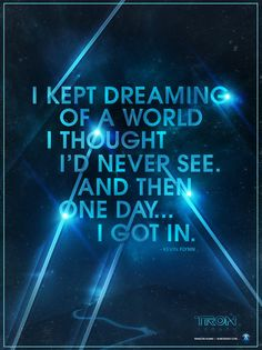 I Kept Dreaming of a World I Thought I'd Never See. And then One Day ... I Got In