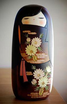 Kokeshi #legno #design #giappone