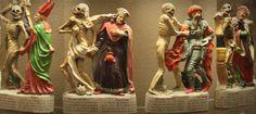 Das Fasnachtsmuseum zeigt eine große Sammlung an Zizenhausener Terrakotten. U.a. den 40-teiligen Basler Totentanz