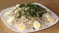 Оригинальный салат из дайкона и говядины