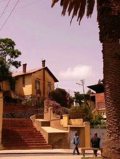 Alleyway Steps in Downtown #Asmara