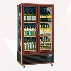 Luxury Wine Cooler Showcase 680L | Wine Coolers Rental | Rent4Expo.eu Wine Coolers, Wine Rack, Liquor Cabinet, Luxury, Storage, Home Decor, Self, Purse Storage, Decoration Home