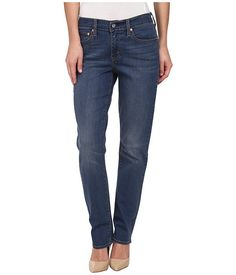 Levi's® Womens 414™ Relaxed Straight Coastal Ridge - These are disgusting! The color is so crayon blue, only distressed on the front and the back doesn't match. They barely qualify as jeans - just glorified leggings.