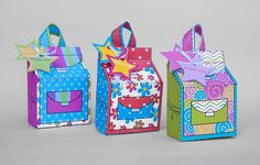 School Backpack Favor Gift Box Set Favor Box Printable for