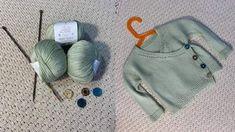 Detský pletený svetrík zo sóje, priadza Baby Soft od Borgo de Pazzi na leto. Baby sweater from soya yarn Baby Soft, for summer Leto, Knitted Hats, Knitting, Fashion, Moda, Tricot, Fashion Styles, Breien, Stricken