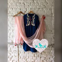 TBT : shining bird tunic converted into kurta set 05 September 2016